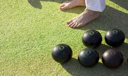 Join us for a barefoot bowls fundraiser